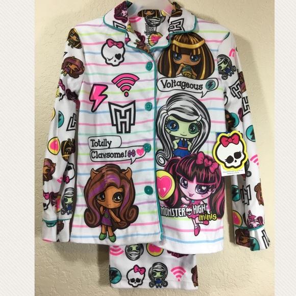 ea67a9567f Monster High Sleepwear Set
